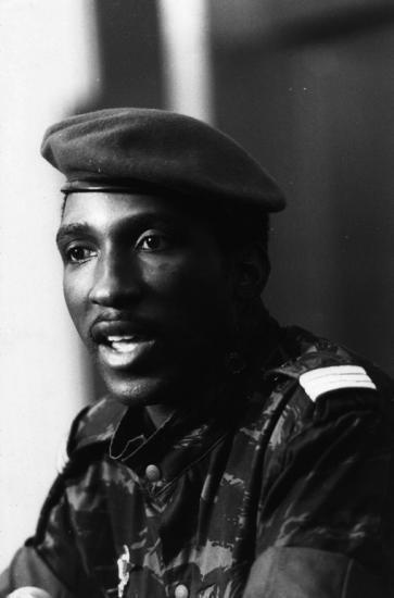 Thomas Isidore Noël Sankara (December 21, 1949 – October 15, 1987) was a Burkinabé military captain, Marxist revolutionary, pan-Africanist theorist, and President of Burkina Faso from 1983 to 1987. More info about Thomas Sankara : 1) Wikipedia https://en.wikipedia.org/wiki/Thomas_Sankara 2) Documentary video : https://www.youtube.com/watch?v=8tlzJ-WglgA