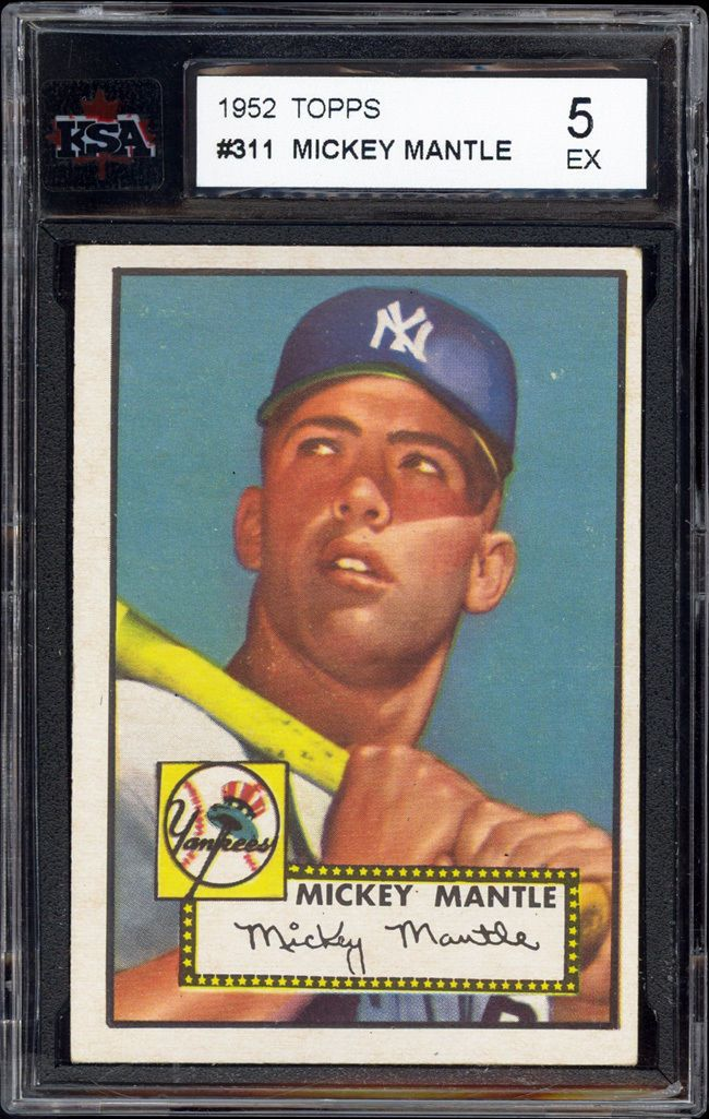 Pin On Mickey Mantle Baseball Cards