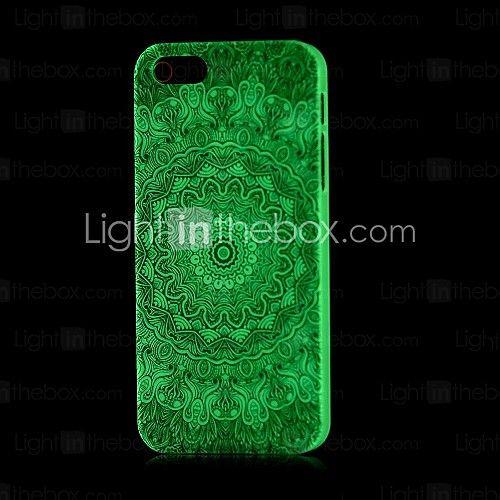 bagliore modello aztec nel caso duro scuro per il iphone 4 / 4s   MiniInTheBox