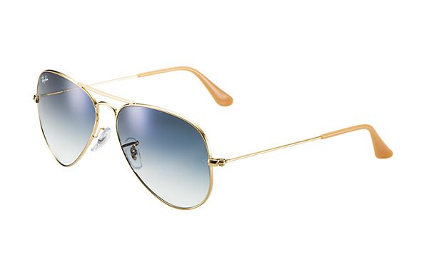 Ray-Ban 0RB3025  - AVIATOR GRADIENT SUN | Offizieller Ray-Ban-Online-Shop (I think they also come polarized.)