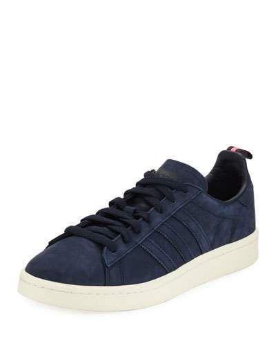 competitive price 08496 b0433 Adidas Campus Suede 3-Stripe Sneaker, Dark Blue