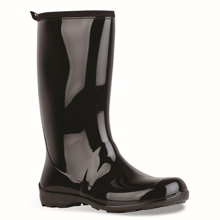 Kamik Heidi Women's Rain Boots, Size: 10, Black