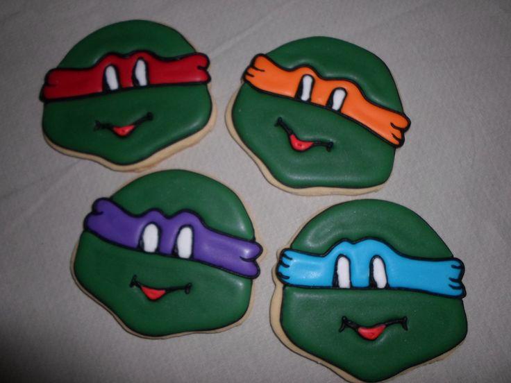 Ninja Turtle Biscuits