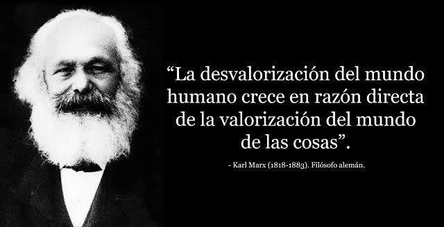 """La tendencia """"Karl Marx"""" se usa para compartir frases del filósofo en el aniversario de su muerte número 134. http://qoo.ly/e72hr"""