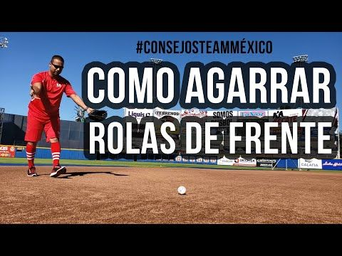 Consejos Al Recibir Rolas De Frente Youtube Entrenamiento Béisbol De Frente