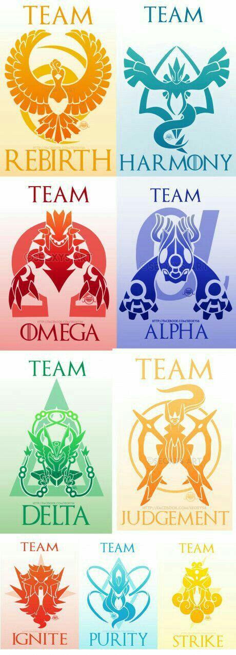 Team Rebirth, Harmony, Omega, Alpha, Delta, Judgment, Ignite, Purity, Strike, text, cool, Legendary Pokémon, Ho-oh, Lugia, Groudon, Kyogre, Rayquaza, Arceus, Entei, Suicune, Raikou, Mega Evolutions; Pokémon