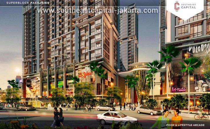Ruko Southeast Capital Jakarta Retail Arcade.
