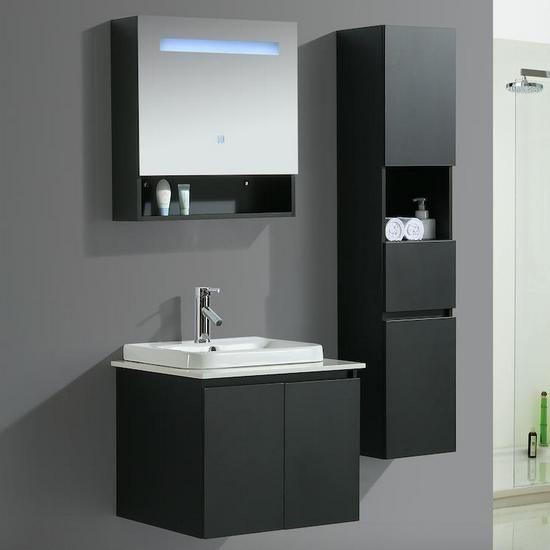 Mobile Bagno Karina Disponibile In 6 Dimensioni Con Specchio E