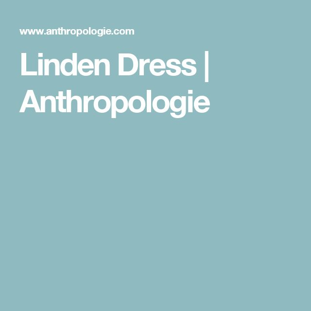Linden Dress | Anthropologie