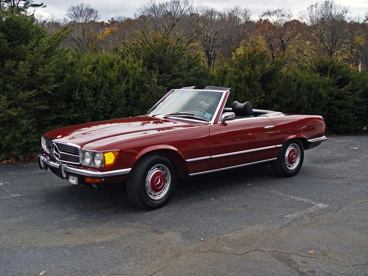 My dream car. For tooling around with the top down on the weekends. I've seen it with a tan interior, but black is good, too. This one's a '73.