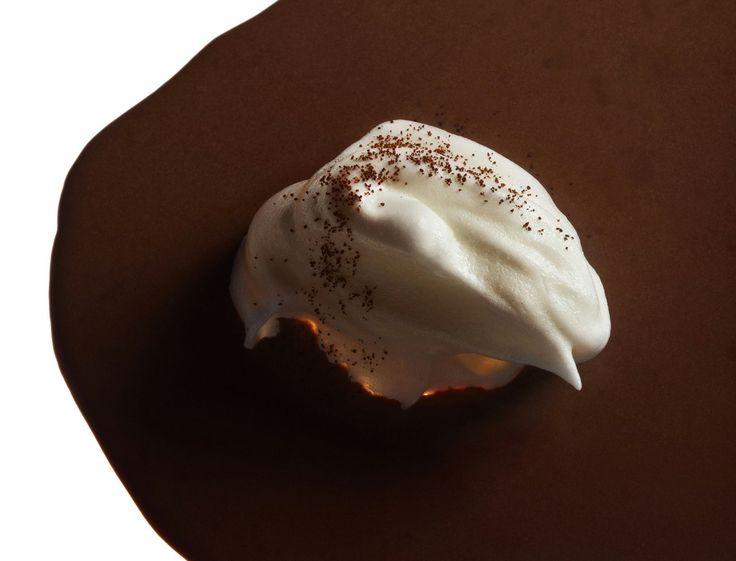 recette micro-ondes  Soupe au chocolat et blanc manger au café