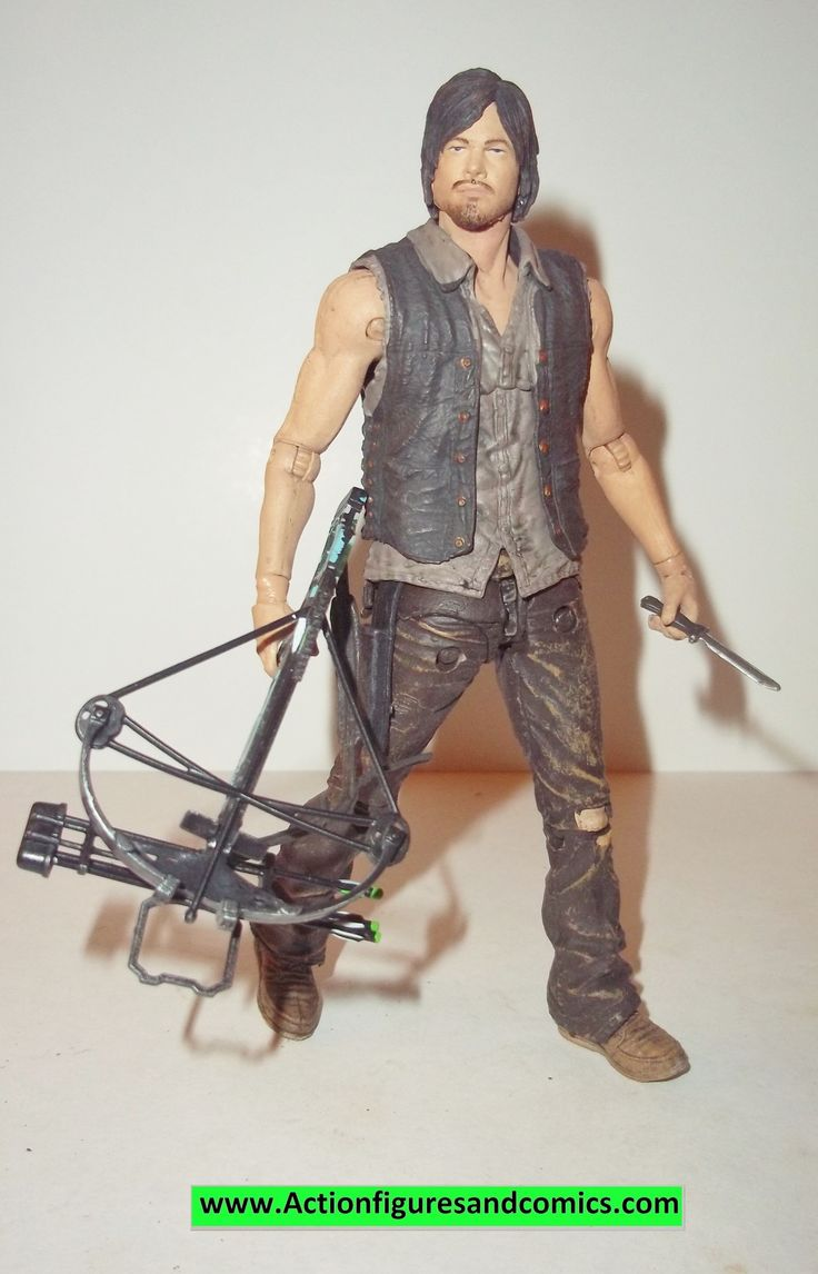 The Walking Dead DARYL DIXON FLASHBACK exclusive complete mcfarlane toys