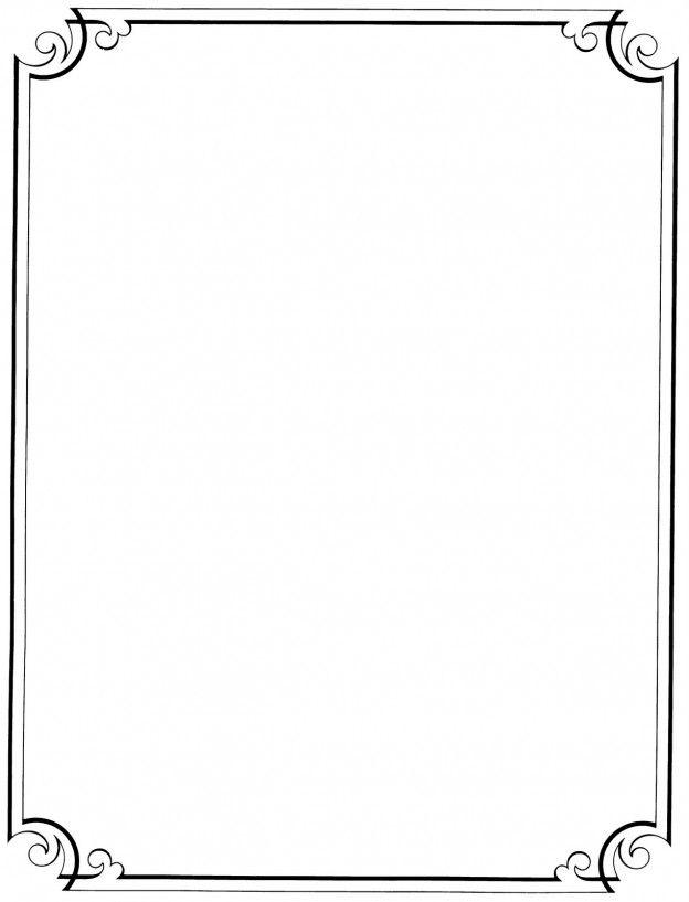 simple border design