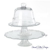Clear glass standsClear Glasses, Parties Time Heavens, Dollar Design, Sharnell Dollar, Cake Stands, Inspiration Cake, Glasses Cake, Glasses Stands, Cupcakes Stands
