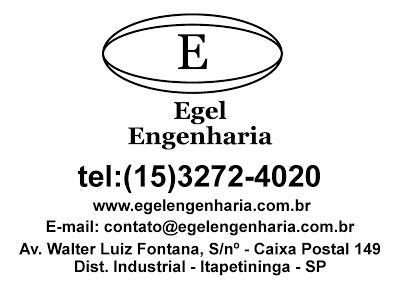 JORNAL AÇÃO POLICIAL BOITUVA E REGIÃO ONLINE: EGEL ENGENHARIA EGEL ENGENHARIA GEOTÉCNICA LTDA Rua. Walter Luiz Fontana, S/Nº Distrito Industrial - Itapetininga - SP e-mail: contato@egelengenharia.com.br