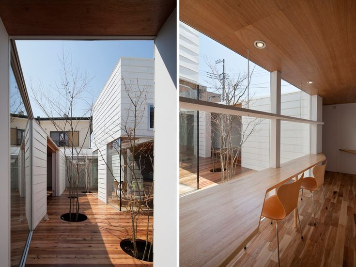 Kazuhiko Kishimoto | Sky catcher house | Indoor / Outdoor transitional spaces