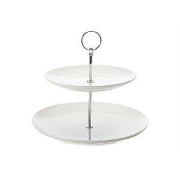 Serving Dishes & Serveware - Briscoes - Maxwell & Williams Cashmere 2 Tier Cake Stand