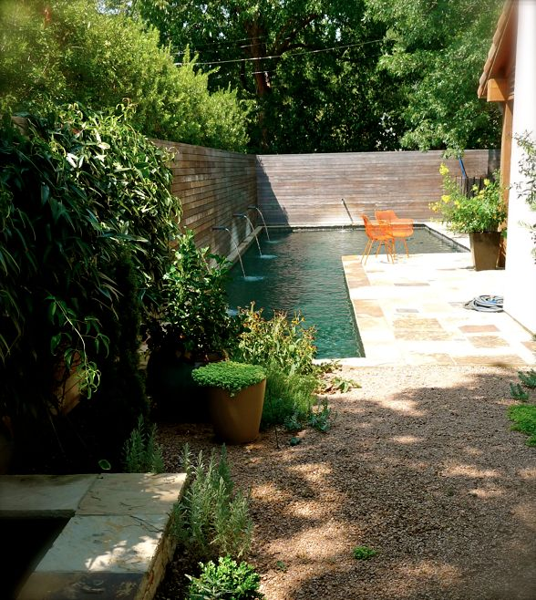 Idée - piscine jardin