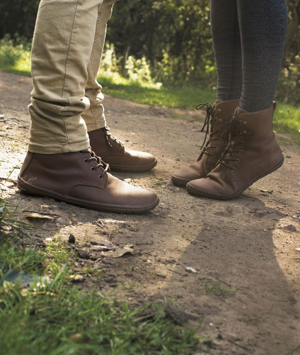 Fall in love with your feet... set them free with barefoot shoes. #justcouplethings with VIVOBAREFOOT Scott (for men) and Gobi Hi Top (for women)