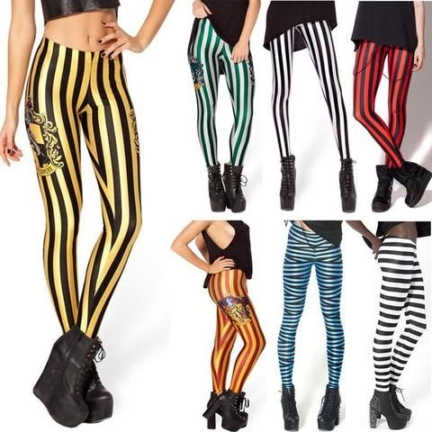 STRIPED LEGGINGS (Collection 1) - touchfancy.com - 1