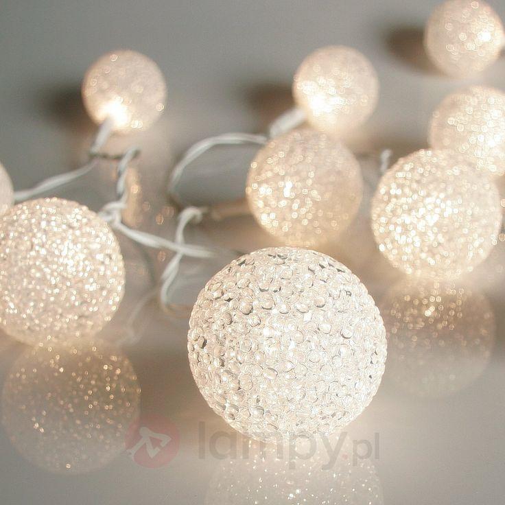 Połyskujący łańcuch świetlny BALL 5,3m 20-punktowy - bezpieczne & wygodne zakupy w sklepie internetowym Lampy.pl.