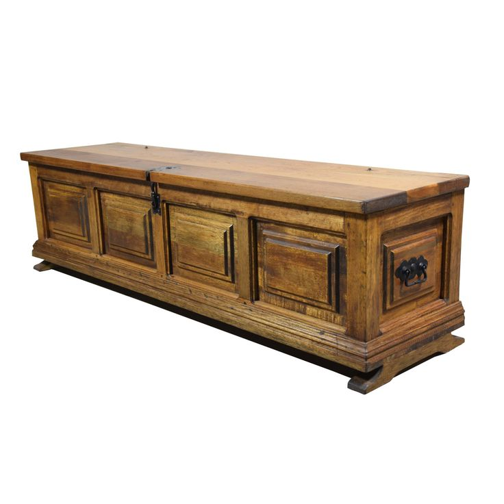 Artesano Home Decor Mediterranean Trunk Coffee Table with Lift-Top