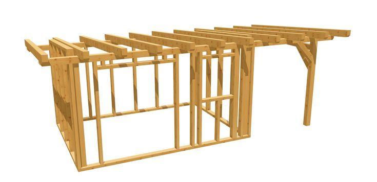 Holzhütte bauen in 2020 (mit Bildern) Gartenhaus bauen
