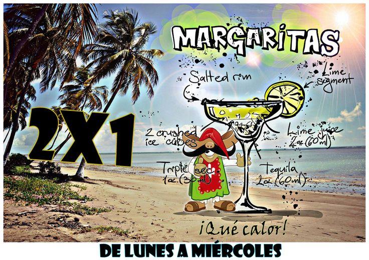Campaña DToluca contra el calor, con margaritas #2X1 de lunes a miércoles, jugos y otros refrescos y cocteles