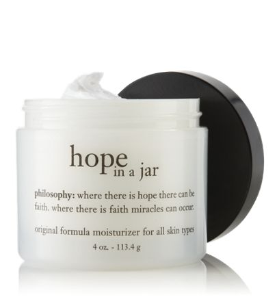 love this moisturizer by philosophy.