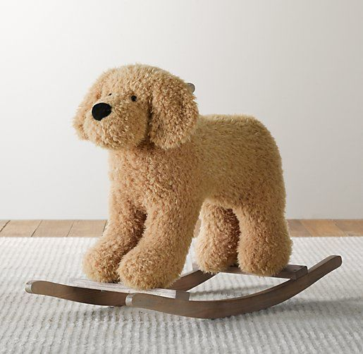Shaggy Plush Riding Animal | Nursery Accessories | Restoration Hardware Baby & Child