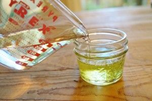 The BEST homemade ring cleaner! Jeweler recommended! On the blog: http://bakersjar.com/homemade-ring-cleaner/