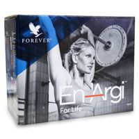 The En-Argi™ Pack contains:  1 - Forever Daily™ 1 - Forever Bee Pollen® 1 - Argi+® 2 -FAB™ 2 -FAB-X™