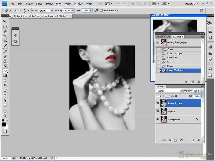 Photoshop CS 4: művészi kép készítése