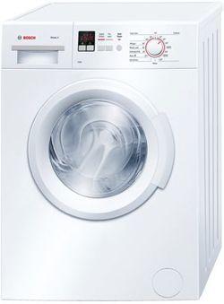 Bosch Wab28162gb Serie 4 Washing Machine In White 1400rpm 6kg 2yr Gtee Front Loading Washing Machine Front Loader Washing Machine Compact Washer