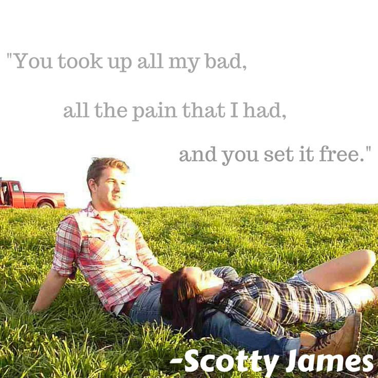 "Lyrics from song ""Sugar Don't"" by Scotty James"