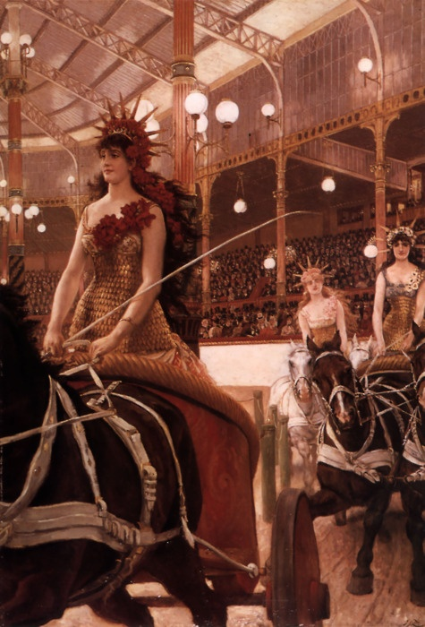 The Ladies of the Cars by James Jacques Joseph Tissot, 1883-1885