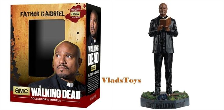 Eaglemoss AMC The Walking Dead Collection With Booklet Father Gabriel issue 11 #Eaglemoss