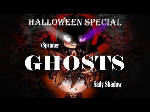 Ghosts Meme Halloween Special Collab With Sady Shadow Gacha Life Tweening Youtube Shadow Memes Ghost