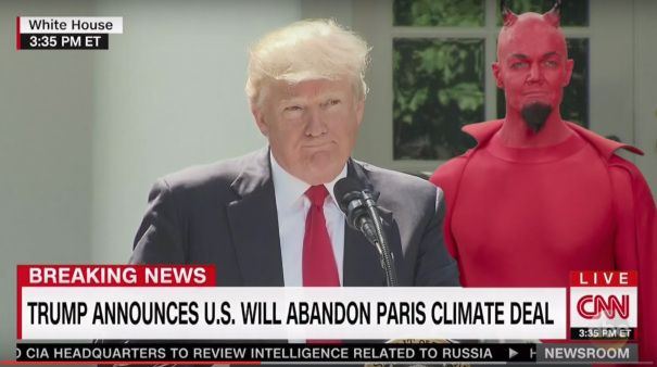 Jimmy Kimmel Reveals Who's Behind Donald Trump Paris Accord Pullout