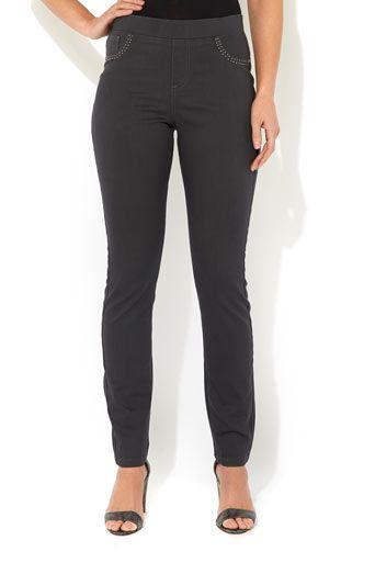 Grey Hotfix Pocket Jean #MyChristmasStory