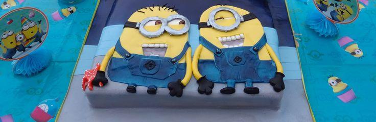 "those+silly+minions+...""bottom""+-+minion+2D+sheet+cake"