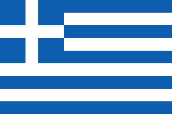 Bandera de la República Helénica.
