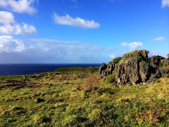 Lakufa'anga Cliffs Rock Garden - Eua, Tonga