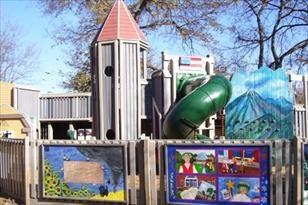 Viking Valley Playground! Lindsborg, KS