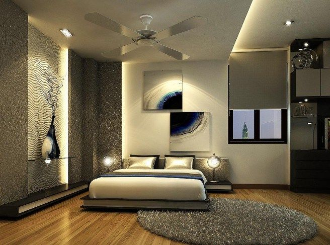 Modern and Colorful Bedroom Design Ideas
