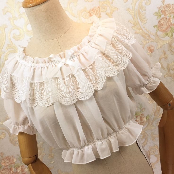 Lace Embroidered Ruffled Top     Tag a friend who would love this!     FAST, FREE Shipping Worldwide     Buy one here---> https://intimatesecrets.de/2016-new-women-tube-top-loyal-princess-lace-embroidery-ruffled-puff-sleeve-ruffle-basic-vintage-tube-tops-white-black-pink-red/    #intimatesecrets #intimateapparel #lingerie