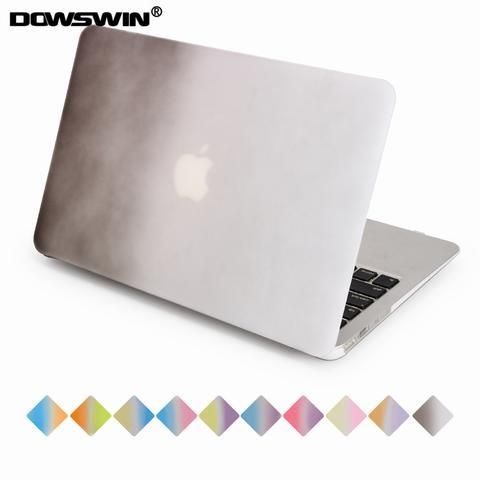 [EBay] Dowswin Case For Macbook Air 11-Inch Pc Hard Cover Fashion Style Rainbow Gradient Shockproof For Mac Book Air 11 Laptop Cover