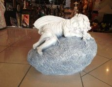 Kaya Sleeping Angel Statues