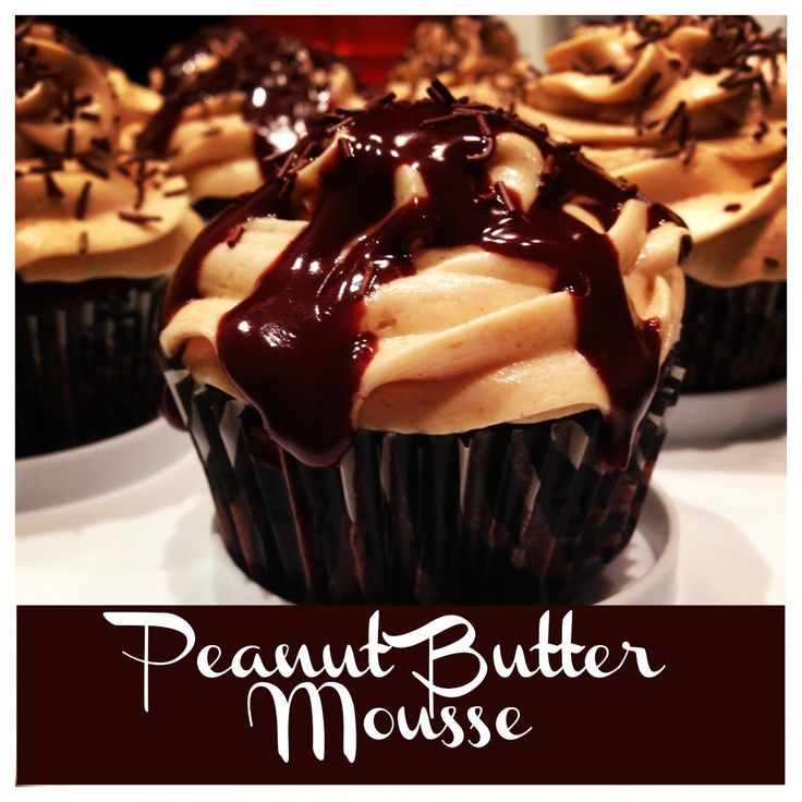 Peanut Butter Mousse - Can be used to fill a peanut butter pie, frost cupcakes, or even spread between two cookies or a cookie sandwich.  The possibilities are endless!