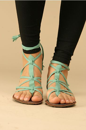 turquoise gladiators: Gladiators Sandals, Shoes, Summer Sandals, Strappy Sandals, Mint Green, Mint Sandals, Leather Sandals, Green Sandals, Teal Sandals
